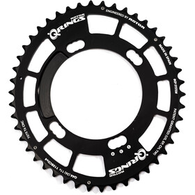 Rotor Q-Ring Road Chainring 110mm 4-arm inside 38 teeth black